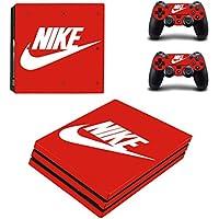 PS4 pro プロ 専用スキンシールΓナイキ Nike 」 本体用 + コントローラー用 × 2枚 ノーブランド 0301 [並行輸入品]