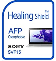 Healingshield スキンシール液晶保護フィルム Oleophobic AFP Clear Film for Sony Laptop Vaio Fit15 SVF15