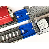 TrainLab Adapters Compatible with Take-n-Play to Trackmaster (2014) Train Tracks (2pcs)