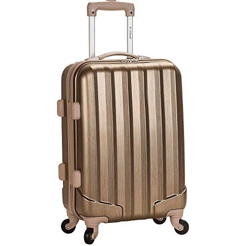"""ロックランド バッグ スーツケース Melbourne Upright Carry-On Luggage - 20"""" Bronze [並行輸入品]"""