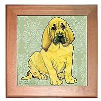 Bloodhound五徳ホットプレート壁装飾8x 8インチ