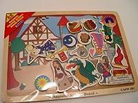 Battat Magnetic Castle Princess Theater Activity Board Puzzle [並行輸入品]