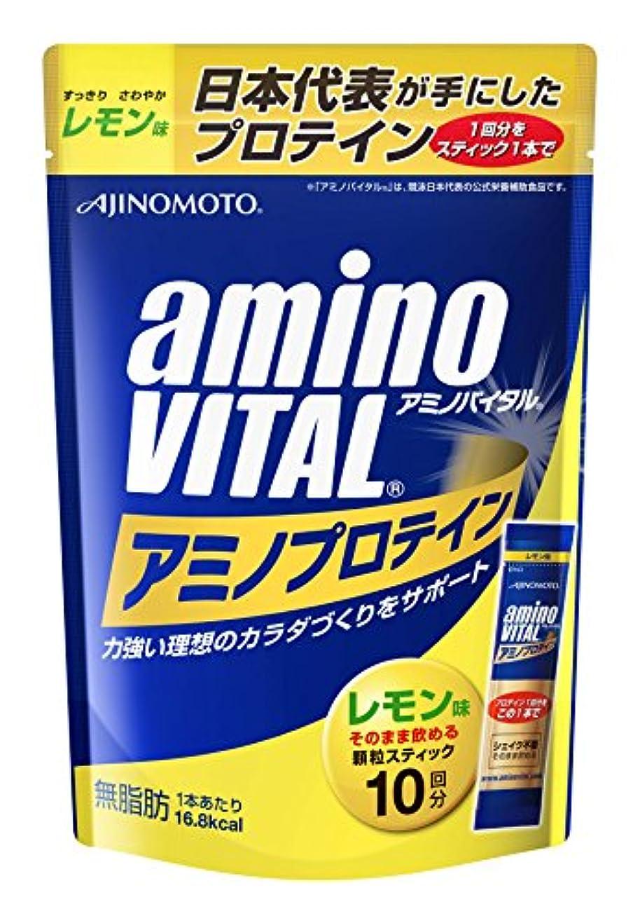 オフ種類アクションアミノバイタル アミノプロテイン レモン味 10本入パウチ