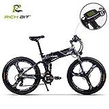 RICH BIT TOP860 マウンテンバイク 電動アシスト自転車 26インチ バイク 折りたたみ 3色 ★PL保険加入