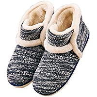 GaraTia Winter Vintage Boot Slippers Arctic Solid Indoor