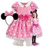 新作 Disney Minnie Mouse Pink Costume ディズニー ミニーマウス ピンク 2013 子供 キッズ 衣装 コスチューム & ヘッドバンド 2点セット ミニー 100 XSサイズ 3-4歳