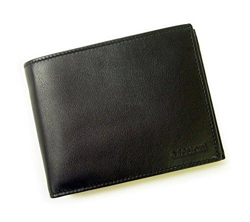 (テストーニ)Testoni 財布 メンズ 三つ開き (ブラック) WUBT303 TS-100 [並行輸入品]