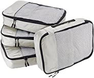 Amazon Set of 4 Basic Travel Storage Cases, Medium