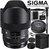 Sigma 14-24mm f/2.8 DG HSM アートレンズ キヤノンEF用 - 6PCアクセサリーセット
