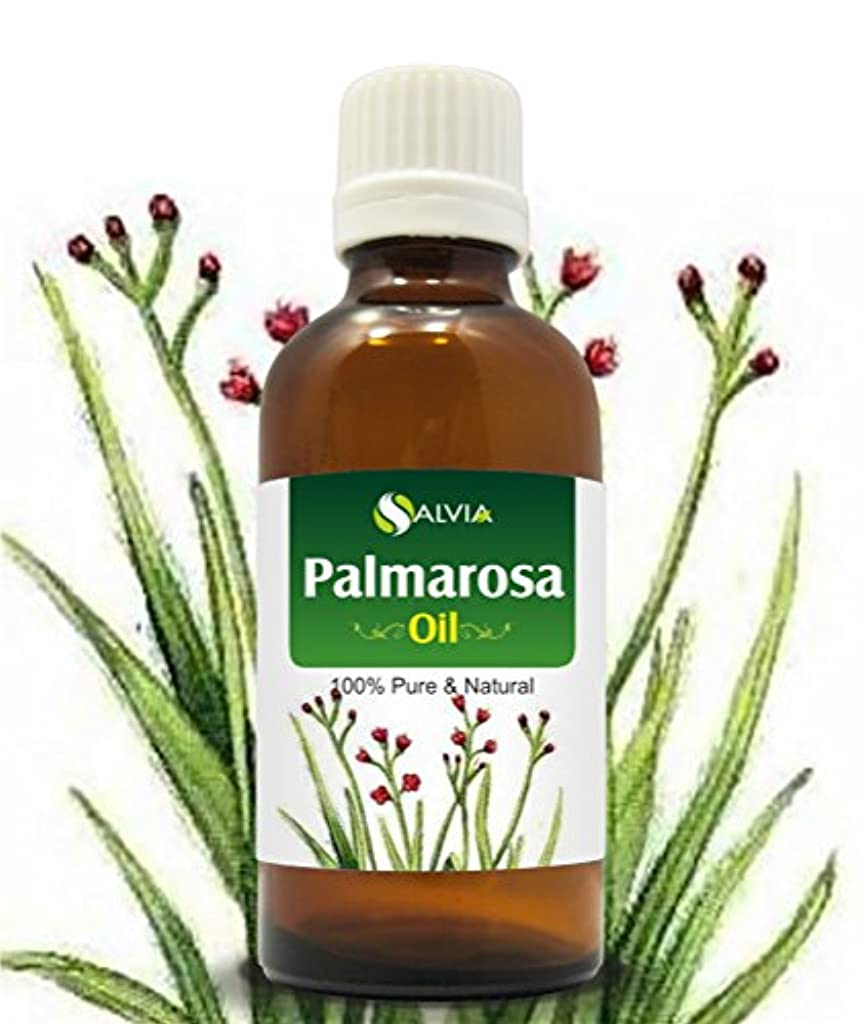 テレックストレイ彼らのものPALMAROSA OIL 100% NATURAL PURE UNDILUTED UNCUT ESSENTIAL OIL 50ML