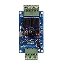 12 ボルト デュアル プログラマブル時間リレー モジュール リレー plc ボード サイクル遅延タイマー モジュール 2電圧検出制御