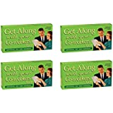 [ブルー Q]Blue Q BlueQ Get Along With Your Coworkers Fruit Flavored Gum FS1004-4Pack [並行輸入品]