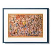 パウル・クレー Paul Klee 「Sparsely leafy. 1934」 額装アート作品