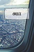 Greece: Ruled Travel Diary Notebook or Journey  Journal - Lined Trip Pocketbook for Men and Women with Lines