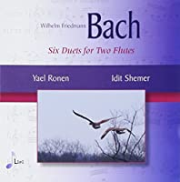 6 Duets for 2 Flutes by W.F. Bach