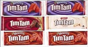 【オーストラリア土産】ティムタムお好みセット【6箱】【オリジナル2・ダブルコート2・ホワイト1・クラシックダーク1】 | チョコレート菓子 通販
