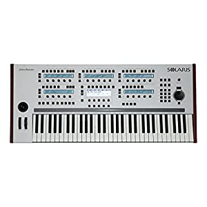 John Bowen Synth Design ハイエンド デジタル ポリフォニック シンセサイザー Solaris White Gray ホワイトグレイ 61鍵