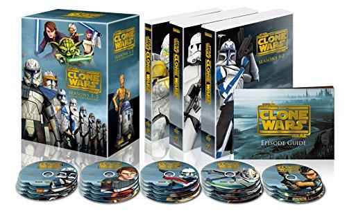 『スター・ウォーズ:クローン・ウォーズ シーズン1-5 コンプリート・セッ ト(22枚組) [DVD]』のトップ画像