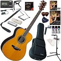 YAMAHA アコースティックギター 初心者 入門 ギターの生音にリバーブ、コーラスをかけられるトランスアコースティックギター ハーモニカも入った最強19点セット LS-TA/VT(ビンテージティント)