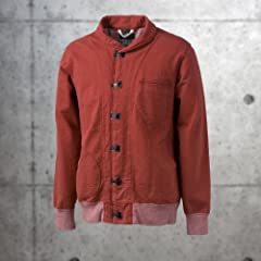 Nigel Cabourn US Clip Jacket: Red