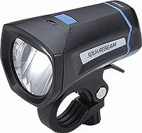BBB 自転車 LED ライト 単四乾電チ ライト ヘッドライト スクエアビーム Stvzo 30 LUX 乾電チ式 BLS-101K ブラック 028624