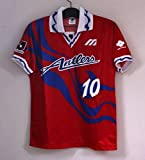 鹿島アントラーズ 1993年 ホーム 10 ジーコ ZICO 半袖 正規 リーグ戦仕様 ユニフォーム Lサイズ