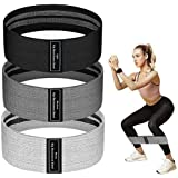 Resistance Bands for Legs and Butt, JR INTL Fabric Workout Bands, Exercise Resistance Bands, Women/Men Stretch Exercise Loops