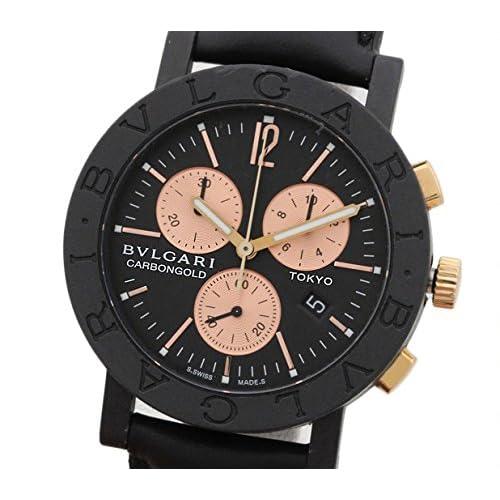 [ブルガリ]BVLGARI 腕時計 [東京顧客限定999本] ブルガリブルガリ [新品革ベルト]クォーツ BB38CLCH メンズ 中古