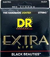 DR BLACK BEAUTIES BKE-9 Lite エレキギター弦×6セット