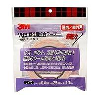 3M VHB構造用接合テープ Y4920 25X10 R Y4920-25X10