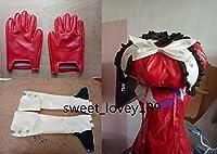 「ノーブランド品」コスプレ衣装+靴カバー+手袋 Fate/Grand Order マリー・アントワネット 全セット