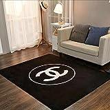 YETUGE ラグ カーペット 洗える ラグマット 滑り止め フランネル ホットカーペット対応 ウォッシャブル 床暖房 絨毯 客間 ベッドルーム