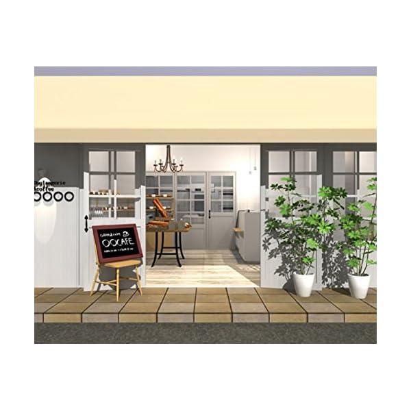 3DマイホームデザイナーPRO専用素材集<カフェ>の紹介画像2