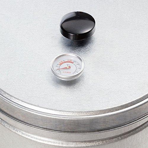 BUNDOK(バンドック) スモーク 缶 温度計付 BD-439 スモーク対応 燻製調理