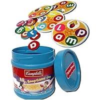 アウトレット[Campbell`s] キャンベルスープ ABCゲーム アルファベットゲーム(パッケージに多少ダメージあるのでお安く、♪)