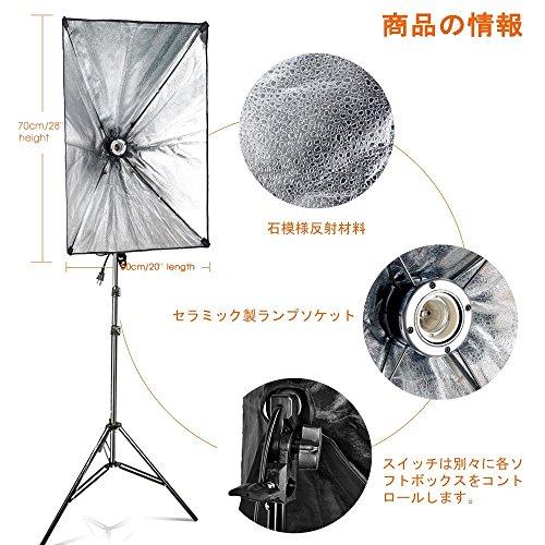 写真照明用セット ソフトボックス 3枚目のサムネイル