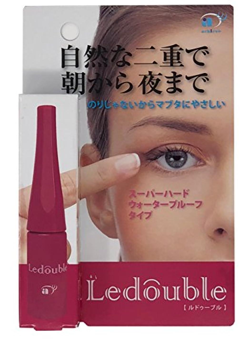 彫る溶岩用心深いLedouble [ルドゥーブル] 二重まぶた化粧品 (4mL) 限定200%増量