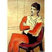 ピカソ 「腕を組んで座る軽業師」 原画同縮尺近似(8号) picasso-02