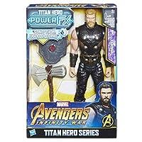 Hasbro Marvel Avengers e0616103 - INFINITY War Thor Titan Hero Power FX, Character 30 cm, Action Figure