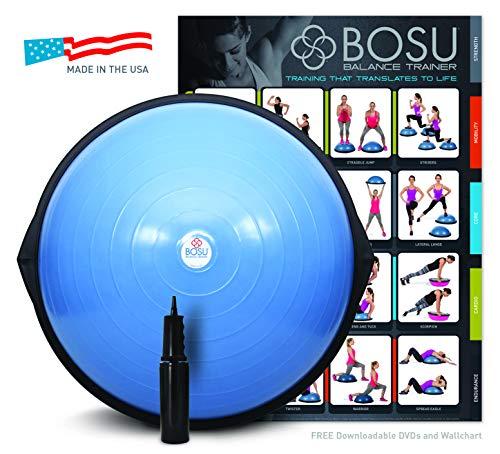 BOSU(ボス) バランストレーナー ホームバージョン 65cm DVD付き 72-10850-2XPQ ブルー 並行輸入品 [並行輸...