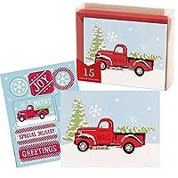 特別配送 小さな箱入り ホリデー/クリスマスカード