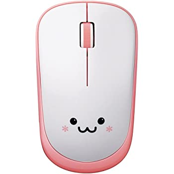 エレコム ワイヤレスマウス 約2.5年電池交換不要 省電力 3ボタン ピンク M-FIR08DRPN