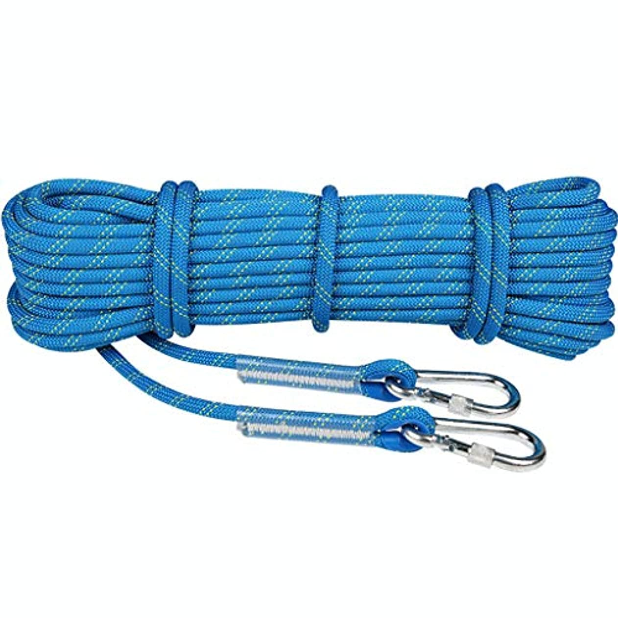 困惑する歩く受け入れるKTYXDE クライミングロープクライミングウェアラブルロープ高高度安全ロープライフライン直径11 / 12mm長さ10/15/20/30/50 / 100m クライミングロープ (Size : 12mm 20m)
