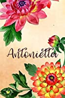 Antonietta: Personalized Journal for Her (Su Diario)