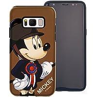 2d4a2f1fd9 Galaxy S7 Edge ケース Disney Mickey Mouse ディズニー ミッキーマウス ダブル バンパー ケース/二層構造 TPU ケース + PCカバー/デュアルレイヤー 耐衝撃 薄型 衝撃 ...