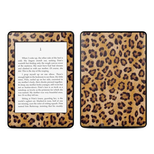 【Kindle Paperwhite スキンシール】 DecalGirl - Leopard Spots