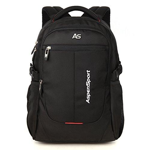 ASPENSPORT パソコンバックパック Laptop Backpack ビジネス リュック 高校...