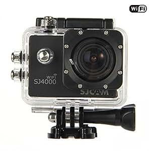 「SJCAM正規品」 SJ4000 スポーツカメラ アクションカメラ 1080P 12MP HD動画対応 1.5インチ液晶画面 170度超広角レンズ 30M防水 バイク/自転車/車に取り付け可能 なコンパクトカメラ