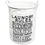 HOUZE Laundry Bag, Large, Laundry Rules