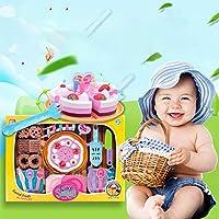 RaiFu ままごと おもちゃ  子供 キッチンのおもちゃ デザート カッティング おもちゃ プレイ ハウス おもちゃ 31pcs /セット